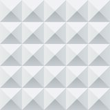 Abstract white and grey geometric squares seamless Stock Photography