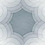Abstract white and grey round shapes background Royalty Free Stock Photos