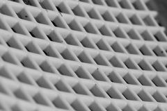Abstract white grid Royalty Free Stock Photos