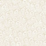 Abstract white hearts seamless Stock Images