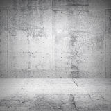 Abstract white interior of empty room royalty free stock images