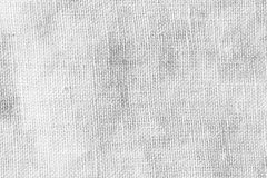 Abstract white linen fabric background Stock Photography