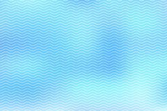 Abstract white lines wave on blue background royalty free illustration