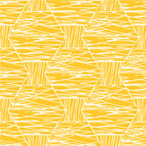 Abstract White Orange Linear Pattern Royalty Free Stock Photography