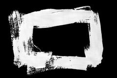 Abstract white drawing Stock Image