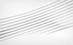 Abstract white panels with copyspace for text. 3D render Royalty Free Stock Photos