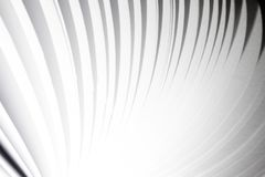 Abstract white paper page flying book background Royalty Free Stock Photos