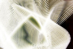 Abstract white pattern. A background of an illustrated abstract white pattern Stock Photography