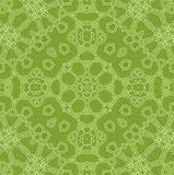 Abstract green background. Abstract white pattern on green background Royalty Free Stock Images