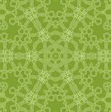 Abstract green background. Abstract white pattern on green background Royalty Free Illustration