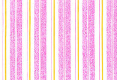 Abstract in white and pink. Abstract background in white, pink and yellow strips Royalty Free Stock Photography