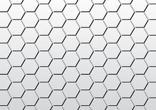 Abstract white polygon background Royalty Free Stock Image