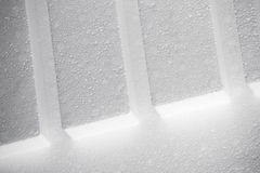Abstract white Polystyrene structure Stock Photos