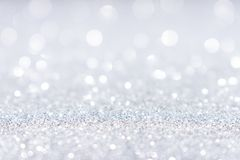 Free Abstract White Silver Glitter Sparkle Background Stock Image - 131984731