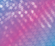 Abstract white stars colorful background. For web and graphic projects Royalty Free Stock Photo