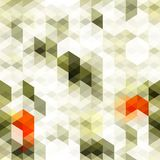 Abstract white triangle seamless Stock Image