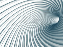 Abstract White Tunnel Design Background Stock Photo