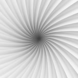 Abstract White Tunnel Design Background. 3d Render Illustration Stock Photo