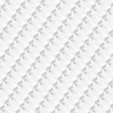 Abstract white vector background 3d prisms formed in isometric perspective. Royalty Free Stock Images