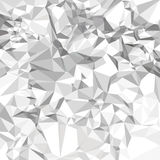 Abstract vector crumpled paper background Stock Photos