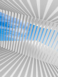 Abstract white vertical 3d interior background Royalty Free Stock Image