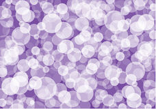 Abstract white and violet bubbles background Royalty Free Stock Image