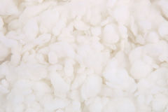 Abstract white wadding background. Royalty Free Stock Images