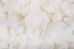 Abstract white wadding background. Stock Images