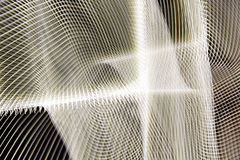 Abstract white web. A background of an illustrated abstract white web Royalty Free Stock Image