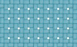 Abstract wicker background wooden logs thin wall openings windows white light blue azure cloth royalty free stock image