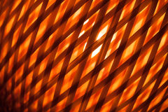 Abstract wicker lampshade background Royalty Free Stock Photography