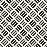 Abstract wicker seamless pattern. illustration Royalty Free Stock Image