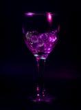 Abstract wijnglas Stock Afbeelding
