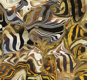 Abstract Wild Animal Markings. A wild animal camouflage markings inspired abstract Stock Photography
