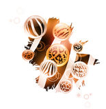 Abstract wild decoration Stock Images