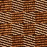 Abstract windend patroon - naadloze achtergrond - houten textuur Stock Afbeeldingen