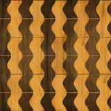 Abstract winding pattern - seamless pattern - parquet flooring Stock Images