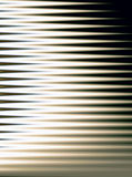 Abstract Window Blinds. Computer-generated abstract that resembles sunlight passing through window blinds Stock Images