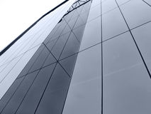 Abstract Window Building. Looking up a sea of windows Stock Images