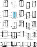 Abstract windows Royalty Free Stock Images