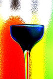 Abstract Wine Background Stock Image