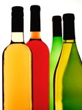 Abstract Wine Background. Abstract background design of wine   bottles Stock Images