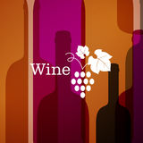 Abstract Wine Background Royalty Free Stock Photos