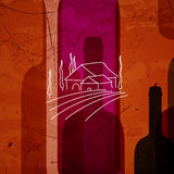 Abstract Wine Background Royalty Free Stock Image