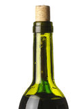 Abstract wine bottle Royalty Free Stock Photo