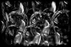 Abstract wine glasses royalty free stock image