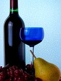 Abstract Wine Glassware stock images