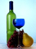 Abstract Wine Glassware royalty free stock images