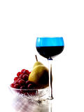 Abstract Wine Glassware Background Stock Images