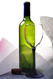 Abstract Wine Glassware Background Design Royalty Free Stock Photo